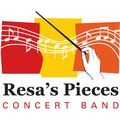 Resas pieces concert band logo red