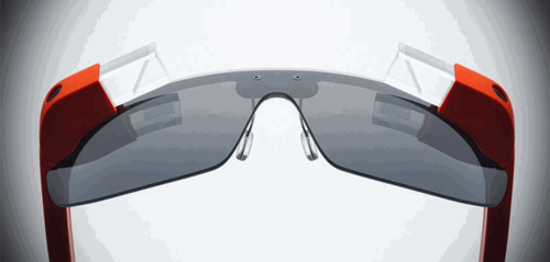 Google glass symmetrical