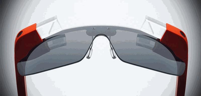 Google glass symmetrical