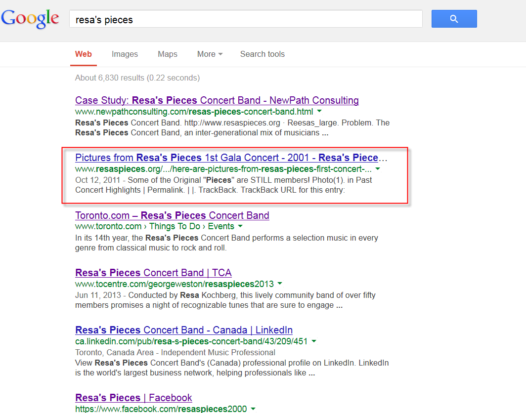 Rp Missing From Google After Relaunch