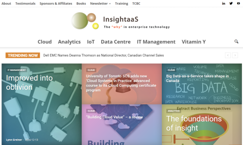 Insightaas home page