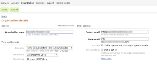 05 From Email Settings