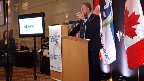Vaughan Mayor Bevilacqua at the 2016 Event