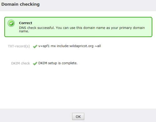 05 Custom Domain Settings Checked