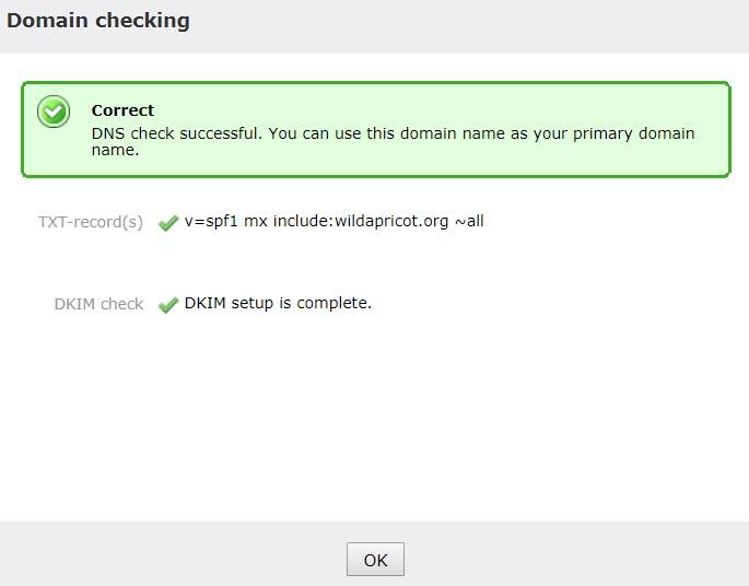 05 Custom Domain Settings Checked