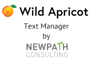 Wild Apricot Text Manager logo