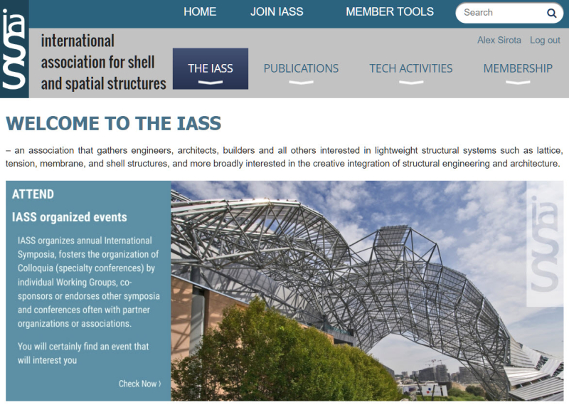 Iass home page