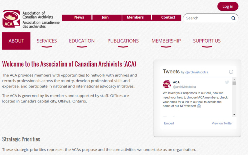 Association of Canadian Archivists